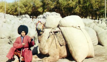 The Homeland of Wandering Turkmen: Yurt