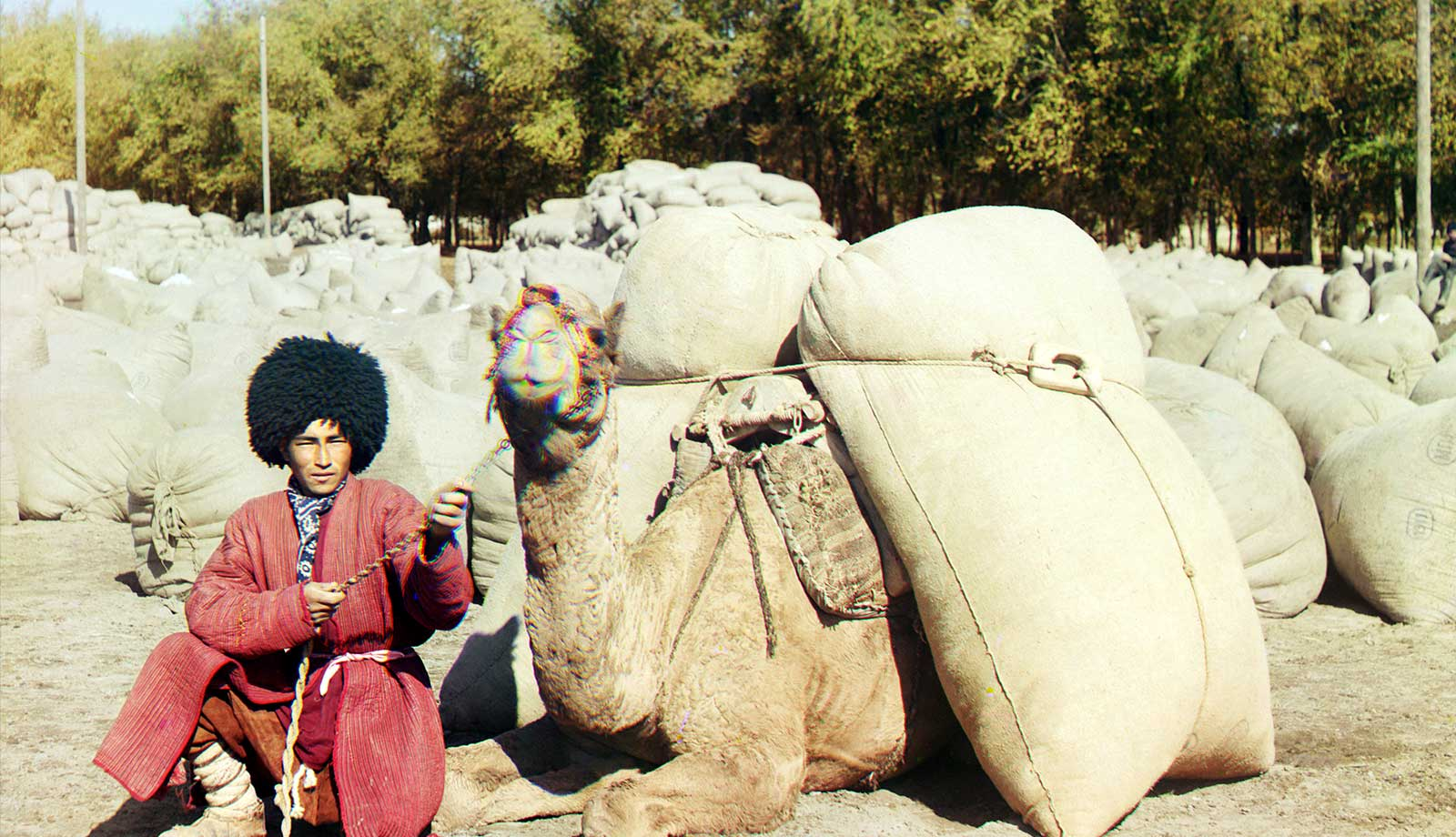 The Homeland of Wandering Turkmen: Yurt