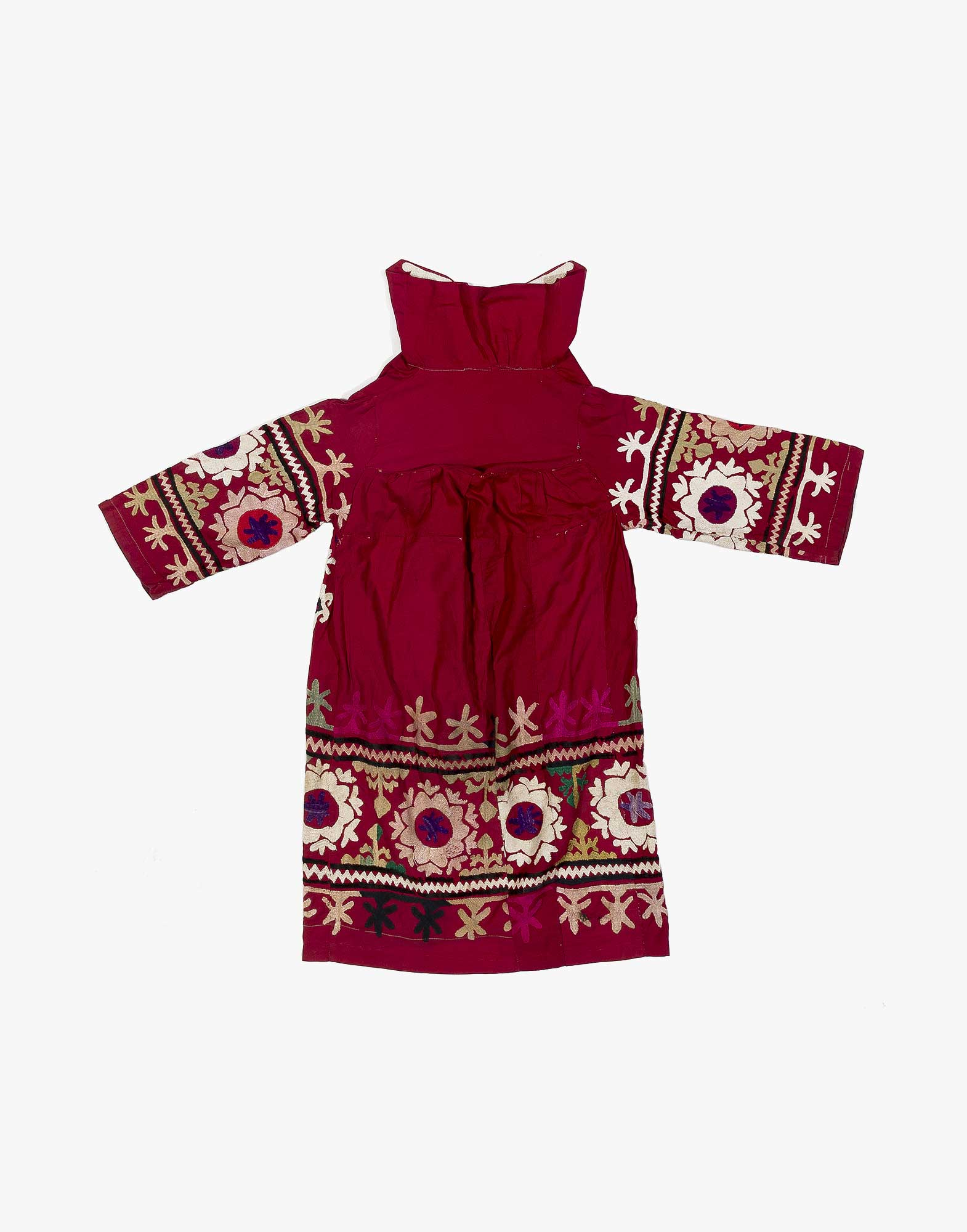 Suzani Embroidered Dress