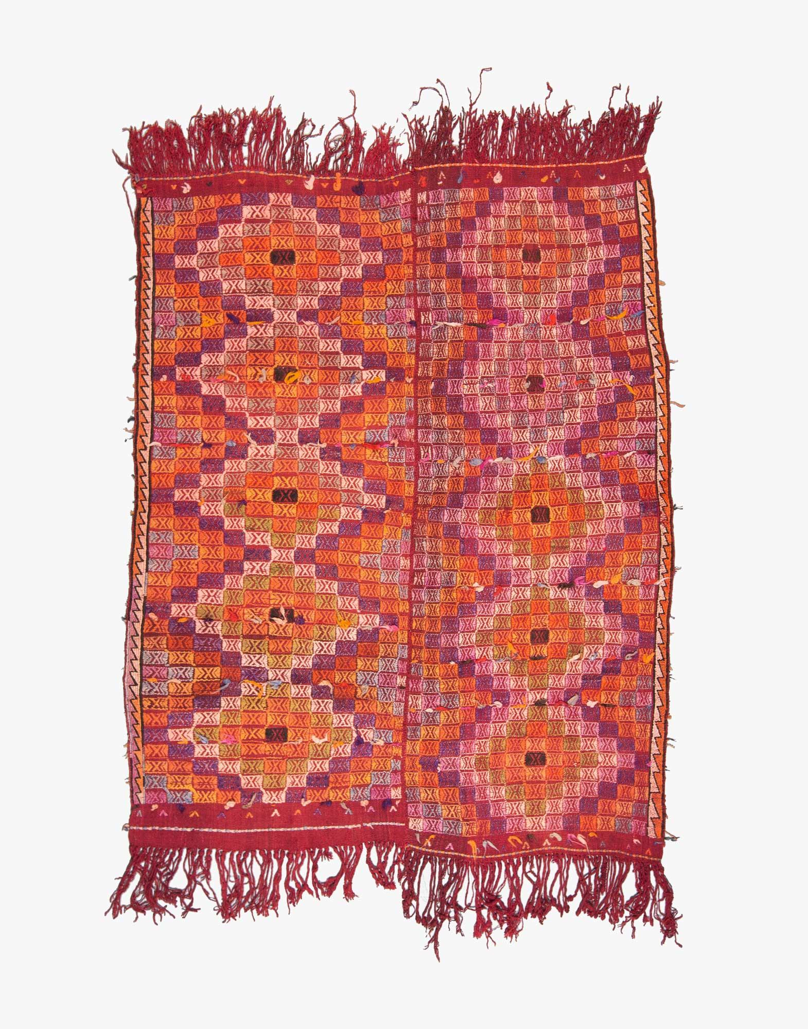Denizli Cicim Embroidered Kilim