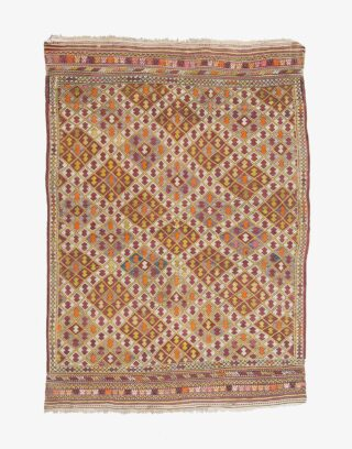 Denizli Cicim Embroidered Kilim