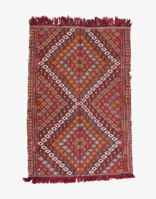 Konya Cicim Embroidered Kilim