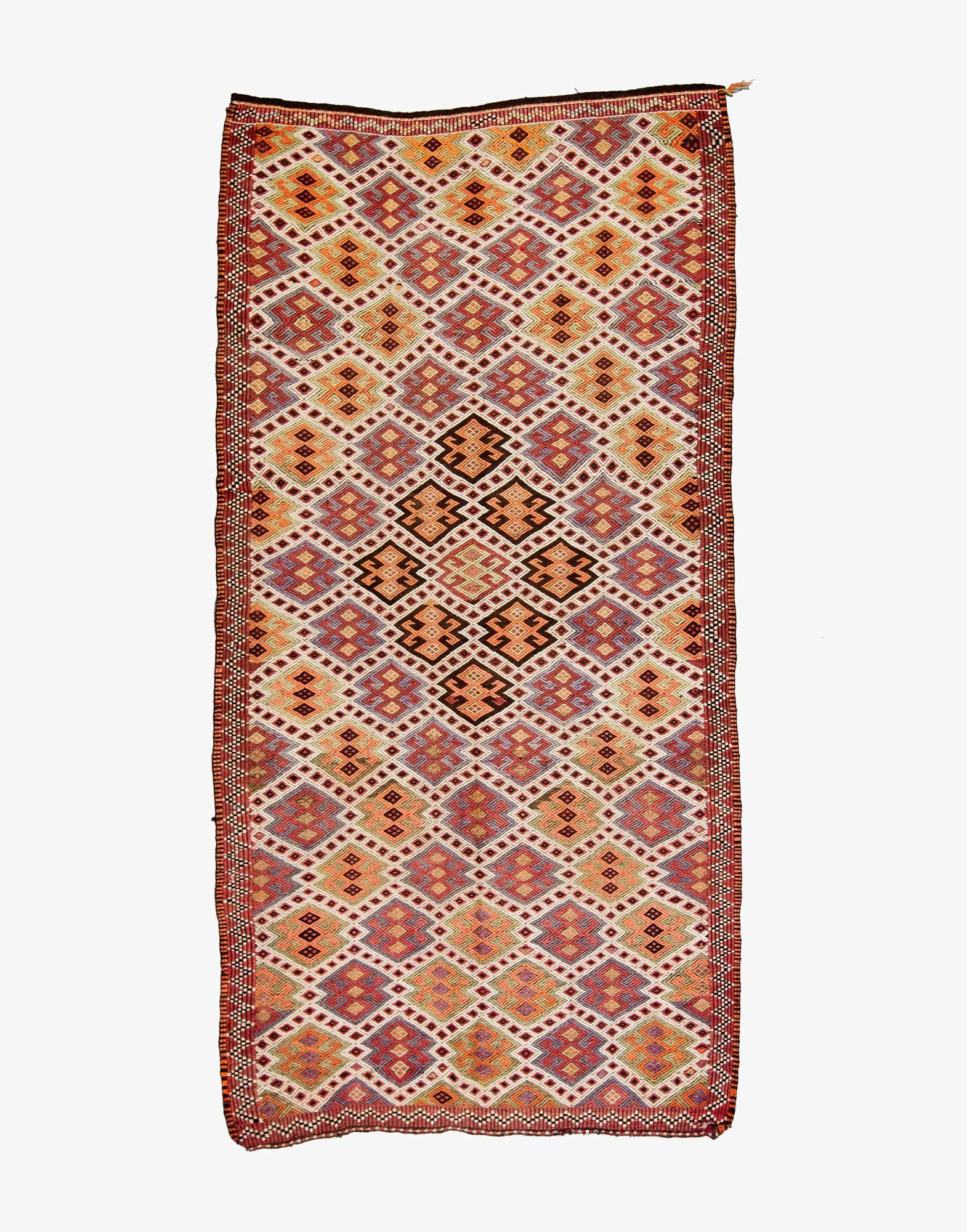 Mut Cicim Embroidered Kilim