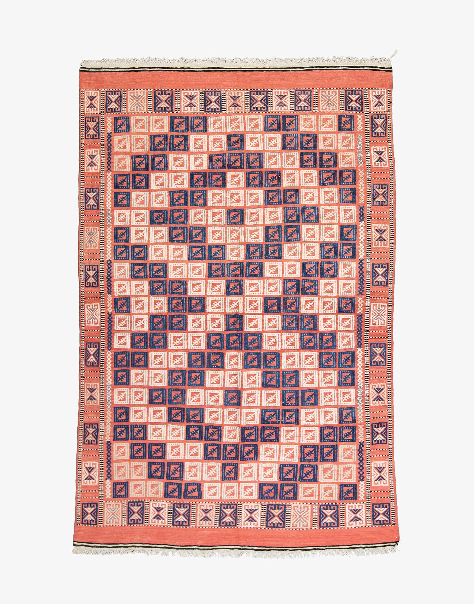 Çanakkale Zili Embroidered Kilim