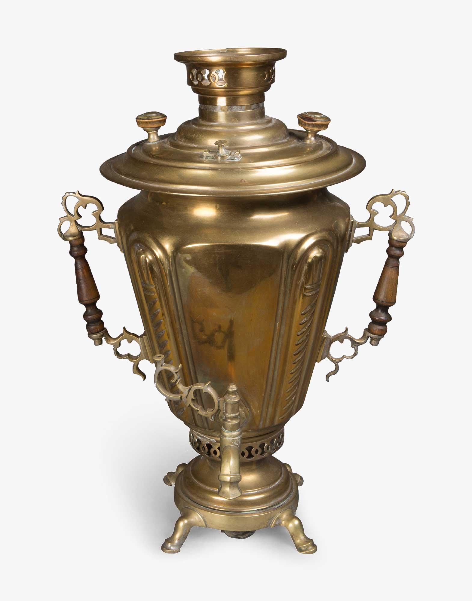 Antique Brass Samovar
