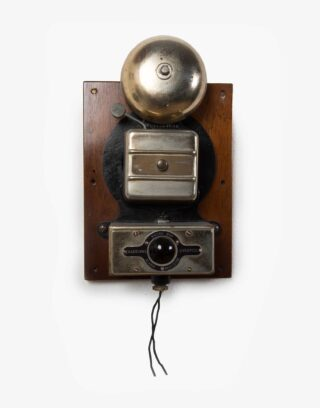 Antique English Railroad Alarm