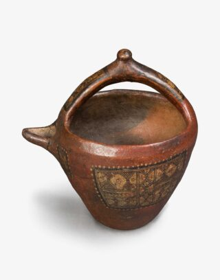 Antique Moroccan Pottery Bowl