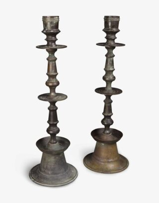 Antique Ottoman Floor Candelabra