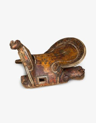 Antique Uzbek Saddle