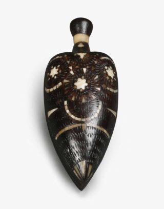 Antique Wood Flask
