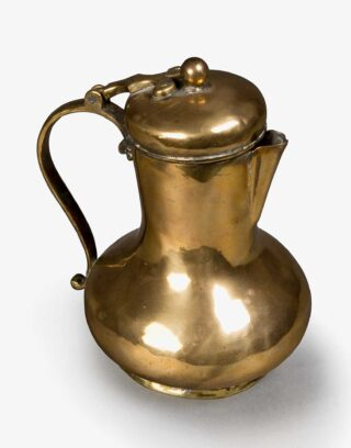 Traditional Ottoman Brass Pitcher