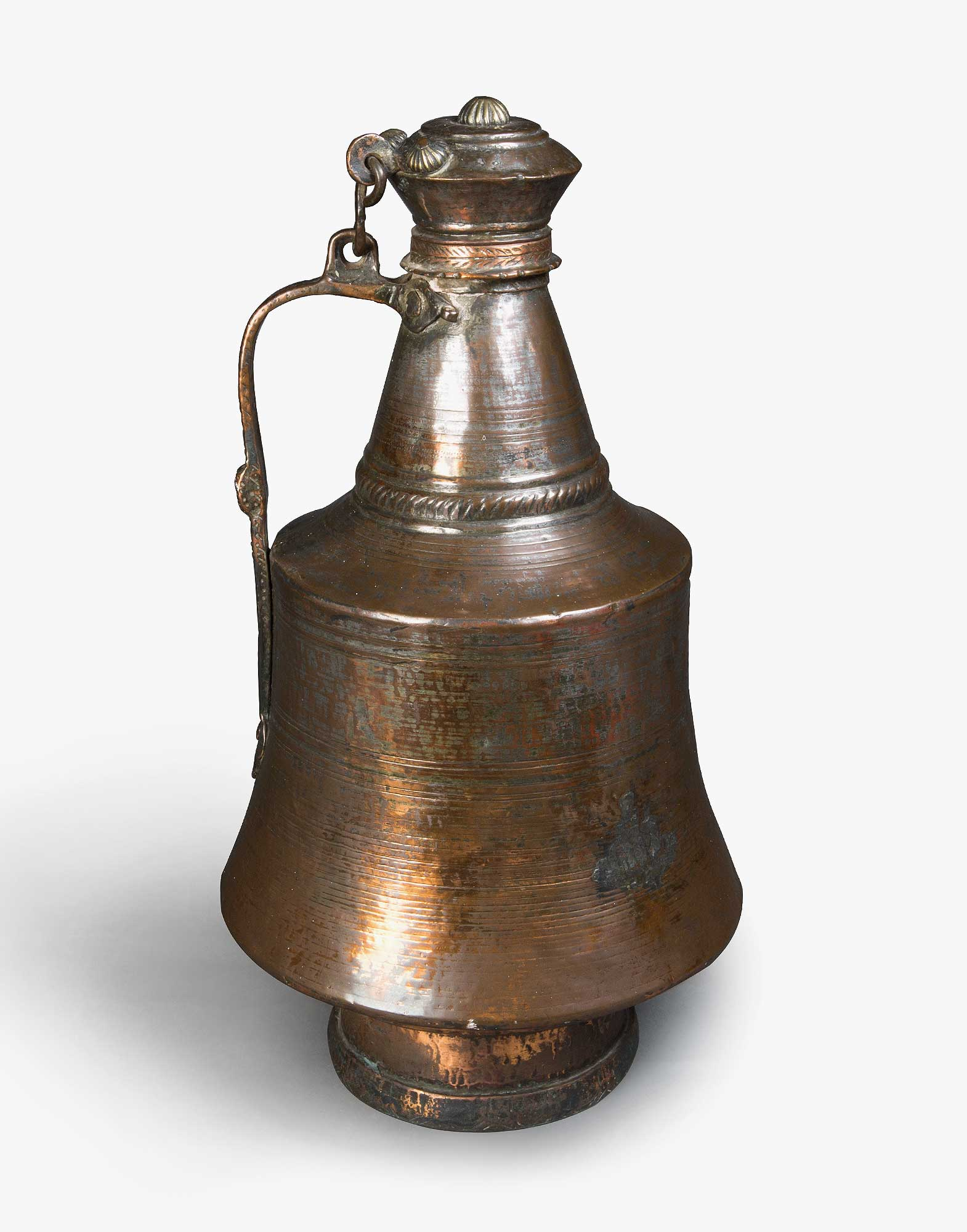 Traditional Ottoman Copper Pitcher