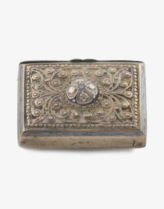 Antique Caucasus Gunpowder Box