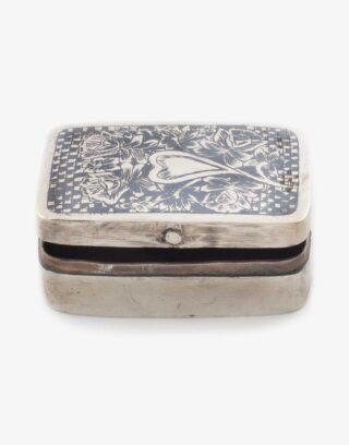 Antique Silver Snuff Box