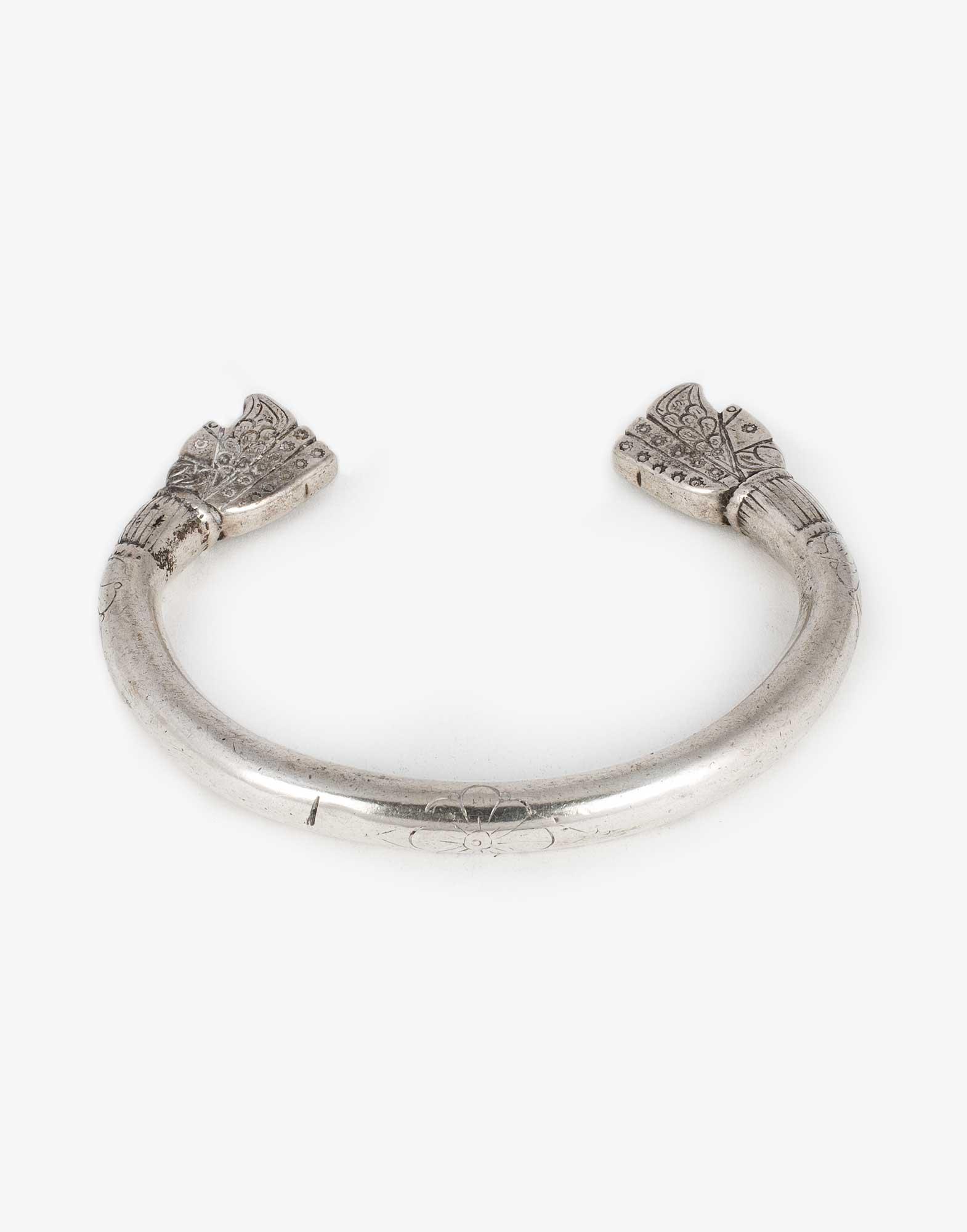 Antique Silver Bracelet Bangle
