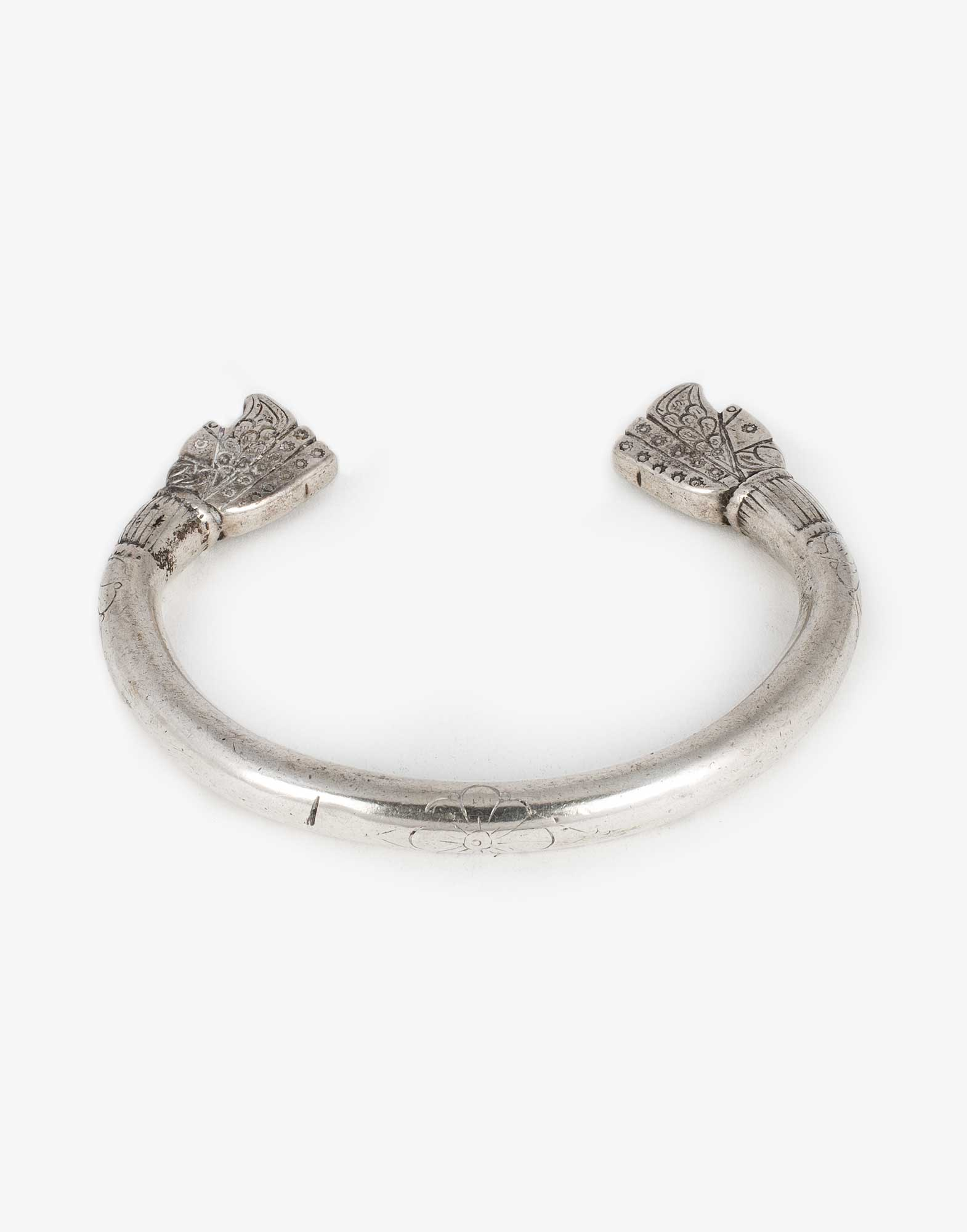 Antique Silver Bracelet Bangle