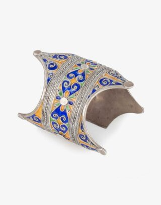 Traditional Silver Turkoman Bracelet