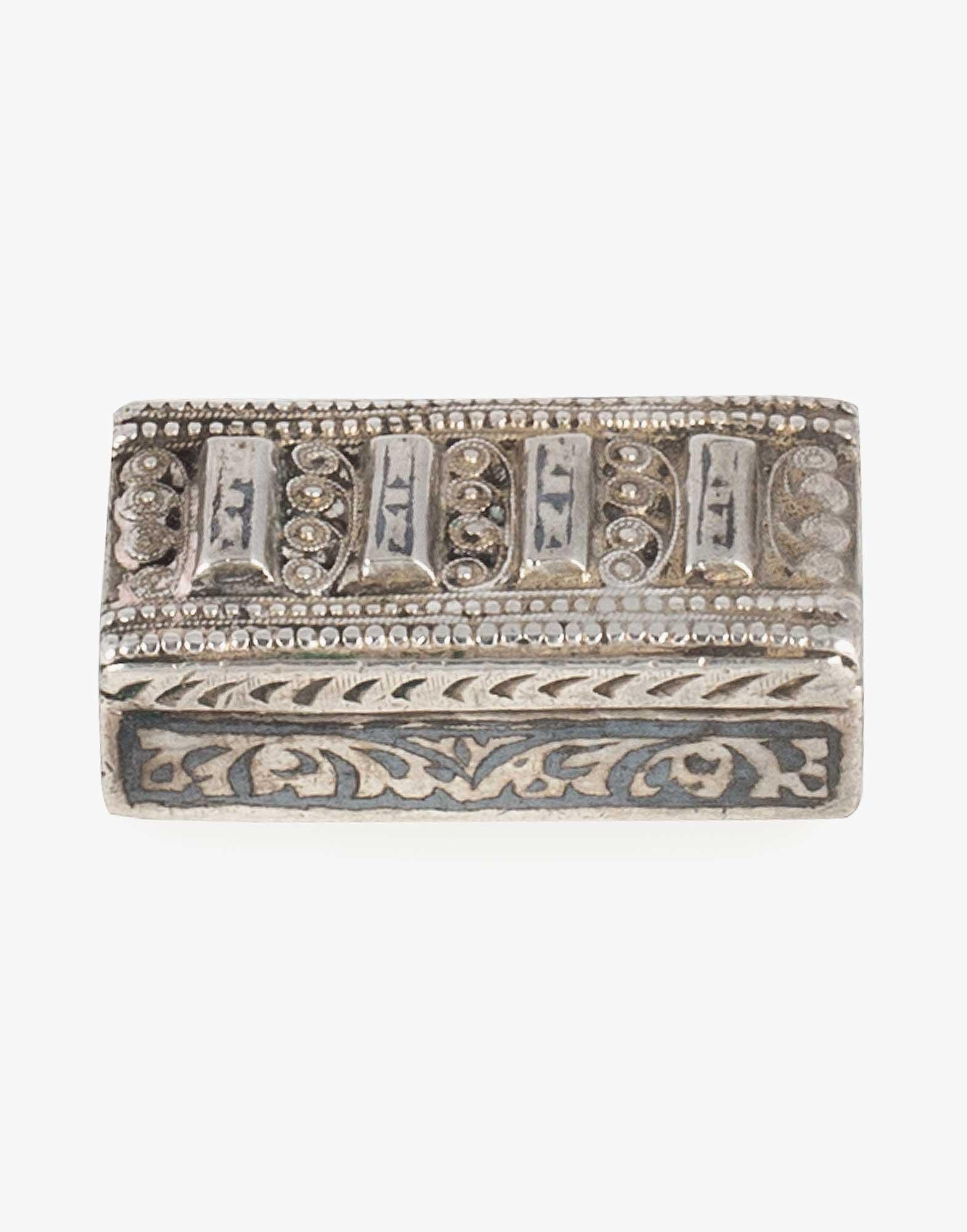 Antique Ottoman Silver Buckle