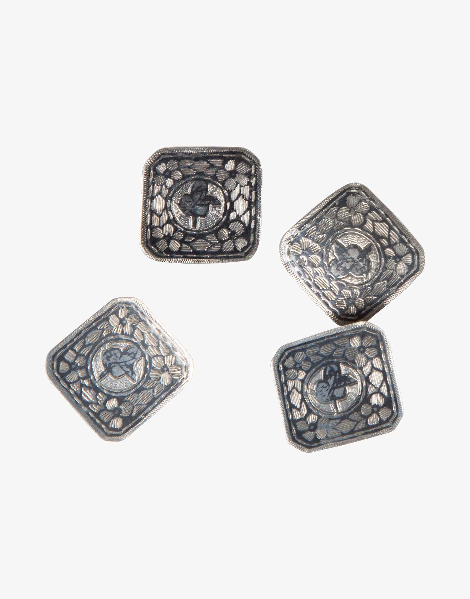 Antique Ottoman Silver Buttons