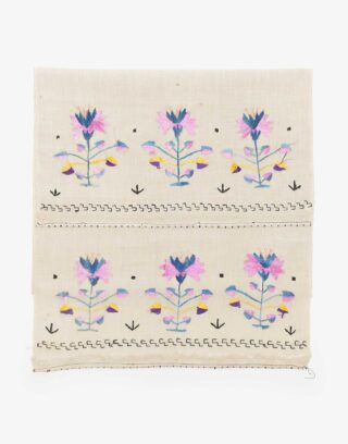Ottoman Embroidered Makrama Hand Towel