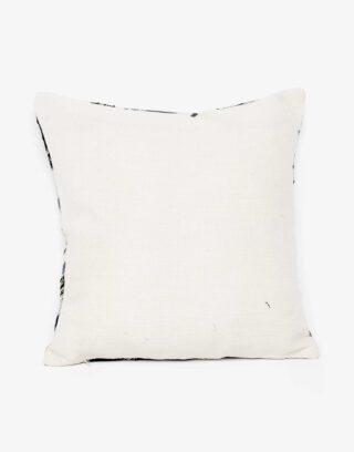 Handwoven Vintage Kilim and Ikat Patchwork Pillow