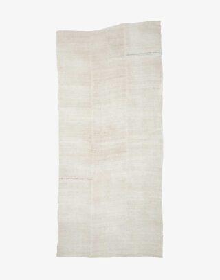 Vintage Turkish Hemp Flatweave Kilim Rug